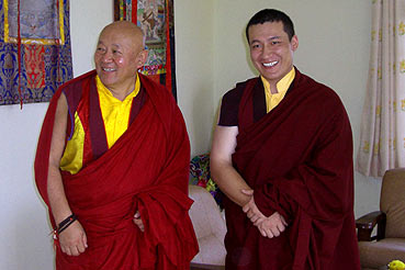 Meeting with His Holiness Drikung Kyabgon Chetsang Rinpoche