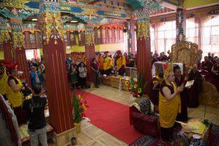 Consecration (Rabne) puja of Karma Dupgyud Choeling Monastery. Photo / Magda Jungkowska
