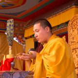 Empowerment of Amithayus (the Buddha of Long Life) by Thaye Dorje, His Holiness the 17th Gyalwa Karmapa. Photo / Magda Jungowska