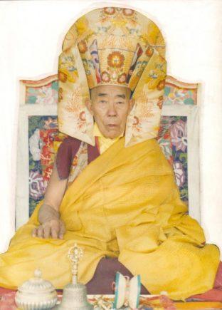 1st Venerable Lama Chime Rinpoche
