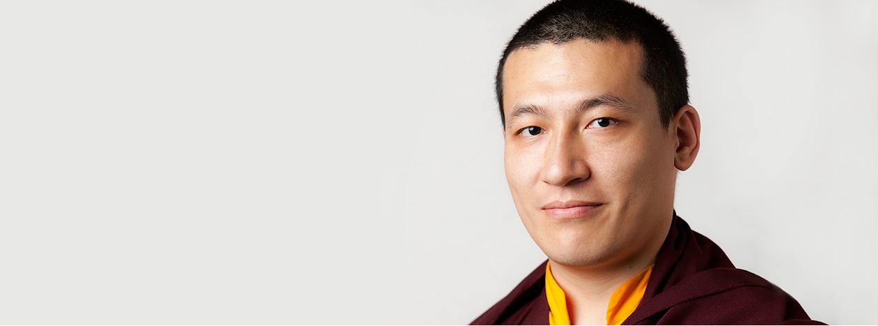His Holiness Karmapa Thaye Dorje