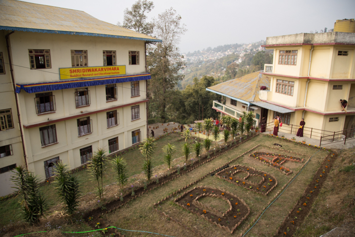 Diwakar Buddhist Academy, Buddhist Research and Educational Center at Kalimpong, founded by Shamar Rinpoche