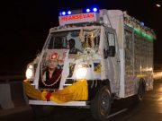 Shamar Rinpoche's kudung arrives in Delhi