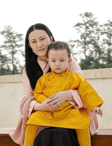 Karmapa shares birthday photos of Thugseyla and Sangyumla