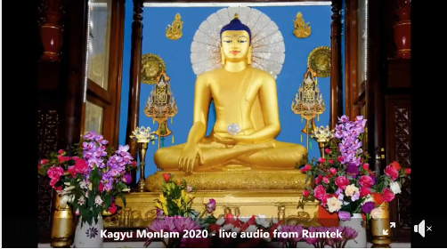 Day 4, session 1, Kagyu Monlam 2020
