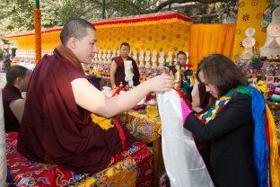 Karmapa and Mrs. Katherine Cheng