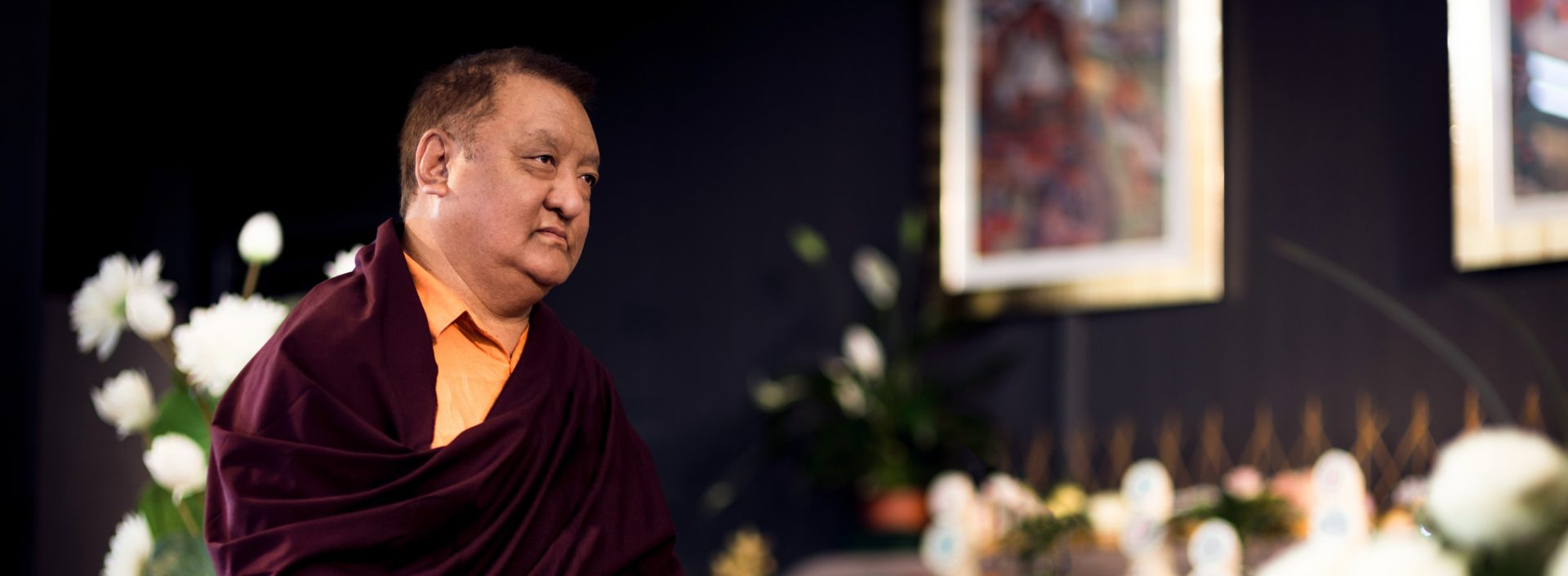 His Holiness the 14th Kunzig Shamar Rinpoche