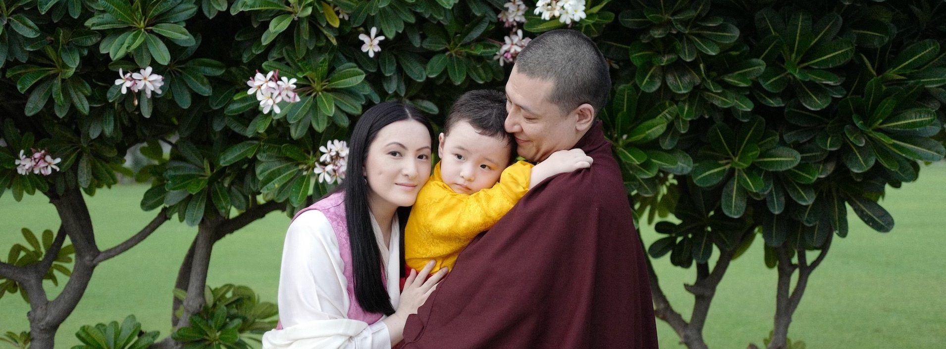 Thaye Dorje, His Holiness 17th Gyalwa Karmapa, is delighted to share glimpses of Thugseyla growing up, to celebrate his third birthday on 11th August 2021. Photo Courtesy - Karmapa
