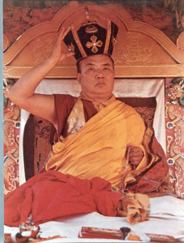 His Holiness the 16th Gyalwa Karmapa, Rangjung Rigpe Dorje