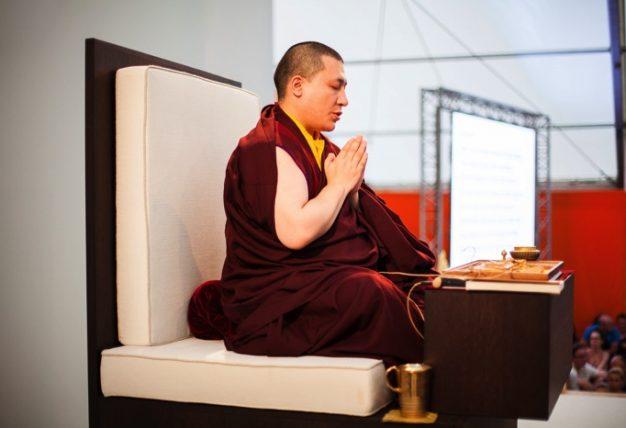 Thaye Dorje, His Holiness the 17th Gyalwa Karmapa. Photo / Volen Evtimov