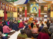 Dupsing Rinpoche teaching about meditation