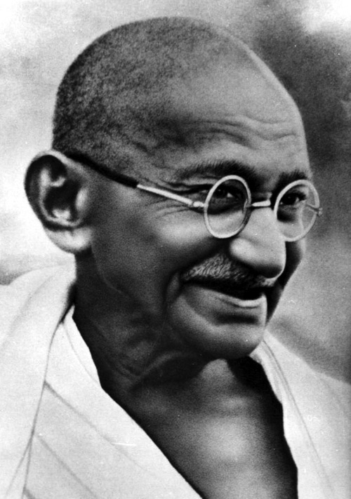 Mohandas K Gandhi, 2 October 1869 – 30 January 1948
