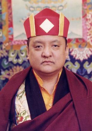 His Holiness the 14th Kunzig Shamar Rinpoche, Mipham Chokyi Lodro