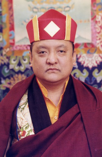 His Holiness the 14th Kunzig Shamar Rinpoche, Mipham Chokyi Lodro
