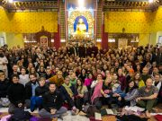 Participants at the Public Course in KIBI 2016. Photo / Norbu Zangpo