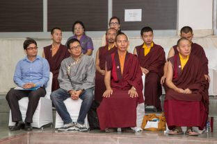 The KIBI staff and the team of teachers. Photo/Norbu Zangpo