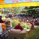 Thaye Dorje, His Holiness the 17th Gyalwa Karmapa, at Khaltsi. Photo / Magda Jungowska