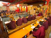 Thaye Dorje, His Holiness the 17th Gyalwa Karmapa, visits Taiwan: Mahakala puja. Photo / Thule Jug