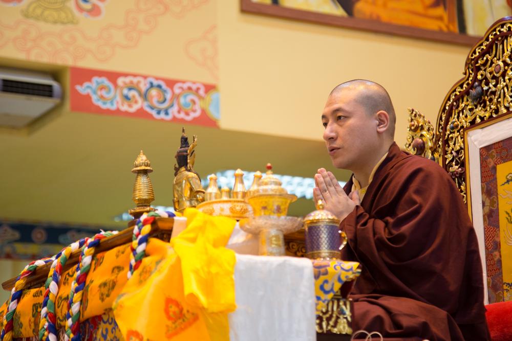 Karmapa announces south east asian tour the 17th karmapa official thaye dorje his holiness the 17th gyalwa karmapa leading the amitabha puja in malaysia 2016 photo magda jungowska altavistaventures Choice Image