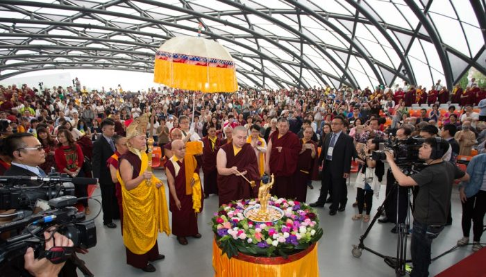 Prayer for World Peace in Taiwan, led by Thaye Dorje, His Holiness the 17th Gyalwa Karmapa