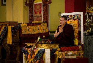 A message from Thaye Dorje, His Holiness the 17th Gyalwa Karmapa. Photo / Norbu Zangpo