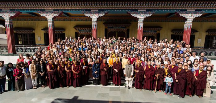 Karmapa Public Course at the Karmapa International Buddhist Institute (KIBI) in 2018