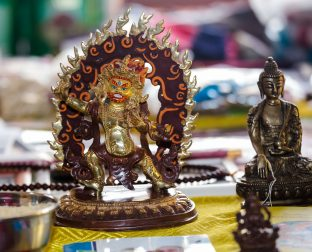 Statues and meditation aids blessed by Thaye Dorje, His Holiness the 17th Gyalwa Karmapa