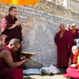Thaye Dorje, His Holiness the 17th Gyalwa Karmapa, at Phyiang Monastery. Photo / Magda Jungkowska