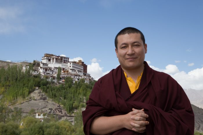 Thaye Dorje, His Holiness the 17th Gyalwa Karmapa, visits the Pothang of Matho Sakya monastery. Photo / Magda Jungowska.