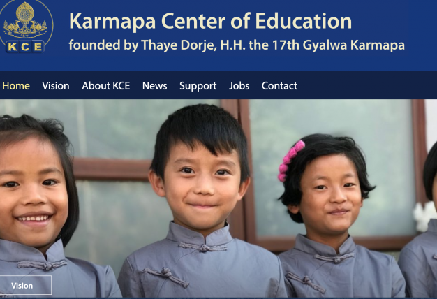 Karmapa Center of Education launches new website