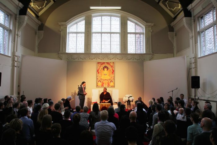 Shamar Rinpoche teaching in London June 2014