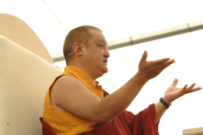Shamar Rinpoche teaching