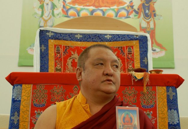 """You don't have to be afraid of death if you know how to practice in death."" - Shamar Rinpoche. Photo / M. Weitbrecht"