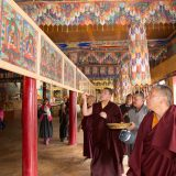 Thaye Dorje, His Holiness the 17th Gyalwa Karmapa, visits Skurbuchan. Photo / Magda Jungowska