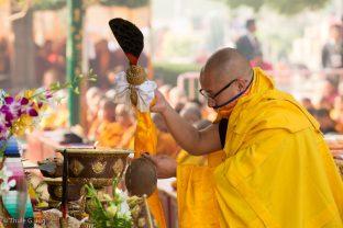 The Kagyu Monlam in Bodh Gaya 2017, led by Thaye Dorje, His Holiness the 17th Gyalwa Karmapa