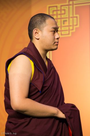 His Eminence 4th Jamgon Kongtrul Rinpoche at the Chenresig empowerment in Hong Kong