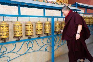 Stupa at Samten Phuntsok Ling