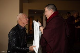 Karmapa meets with Lama Ole in Nepal
