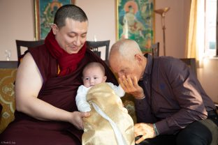 Karmapa, Thugsey and Lama Ole