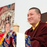 Thaye Dorje, His Holiness the 17th Gyalwa Karmapa, gave teachings on the 37 Practices of a Bodhisattva to over 6,000 students at the Europe Center in Germany