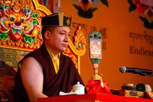 Thaye Dorje, His Holiness the 17th Gyalwa Karmapa, visits Indonesia in November 2019