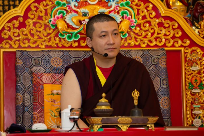 Thaye Dorje, His Holiness the 17th Gyalwa Karmapa, visits Indonesia in November 2019