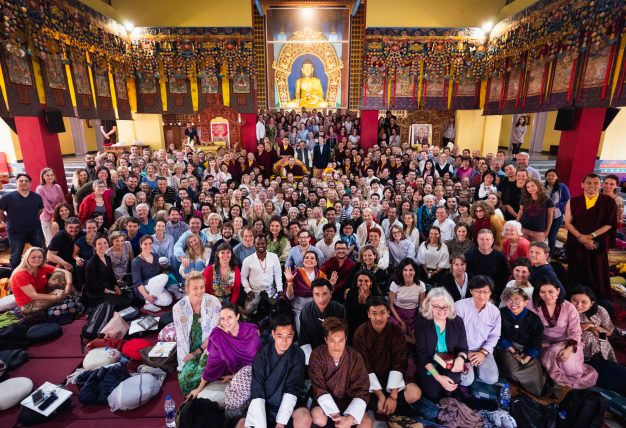 Karmapa at the KIBI Public Course 2019 (Photo/Tokpa Korlo)