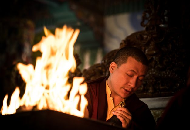 Typhoon in Japan: Karmapa's condolence message and teaching