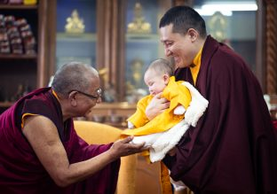The Public Meditation Course, in particular the final day visit of Karmapa's family, was a joyous occasion for all.