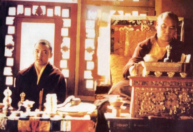 14th Shamarpa with 16th Karmapa
