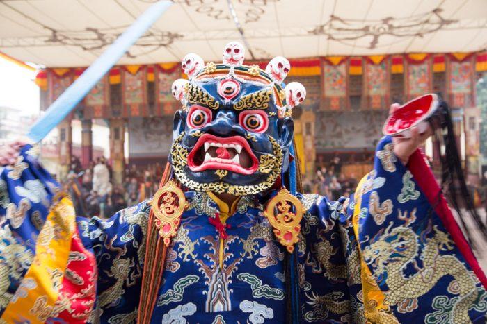 Lama Dances at the Kagyu Monlam 2016. Photo / Gunhild Jug