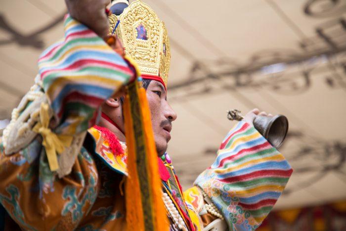 Lama Dances at the Kagyu Monlam 2016. Photo / Magda Jungowska
