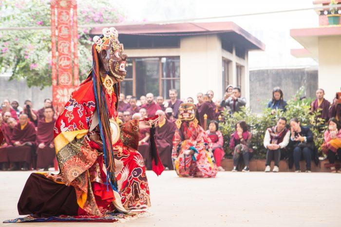 Lama Dance at the Karma Temple, Dec 2016. Photo / Magda Jungowska