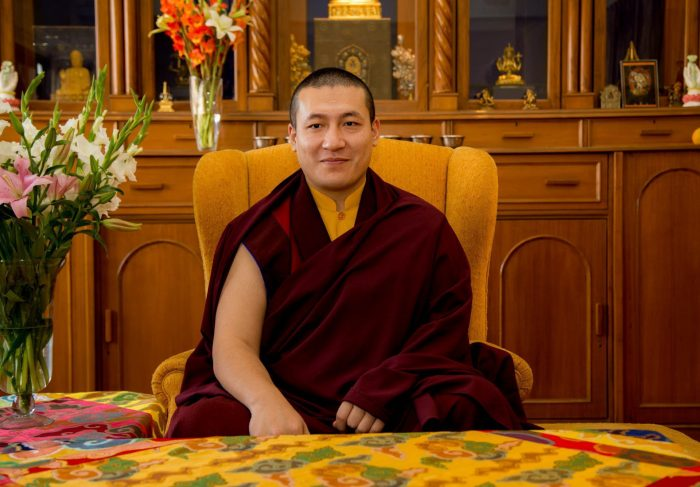 Thaye Dorje, His Holiness the 17th Gyalwa Karmapa, will teach on Buddhism and Happiness